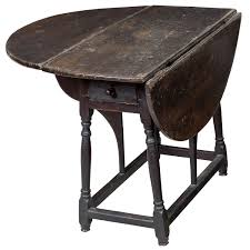 Studio Gate Leg Table William And Mary Furniture 169 For Sale At 1stdibs