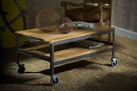 Wood And Metal Coffee Table Furniture Make Your Lovable Own Reclaimed Wood Rustic Coffee