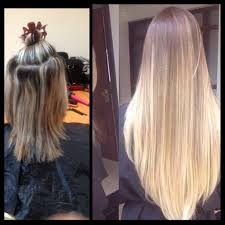 Hair Extension Birmingham by Microring Hair Extensions Images Hair Coloring Ideas