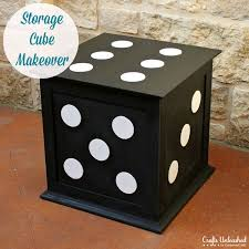 End Table Storage Diy End Table Storage Cube Furniture Makeover