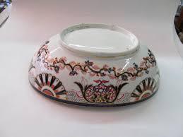 antique english fruit bowl