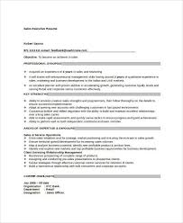 sales executive resume free executive resume templates 34 free word pdf documents