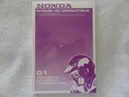 2001 honda trx400 owners manual trx 400 fw french honda