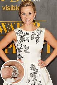 reese witherspoon engagement ring reese witherspoon s wedding rings engagement ring wedding band
