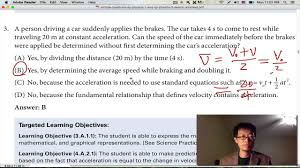 sample questions of ap physics 1 part one youtube