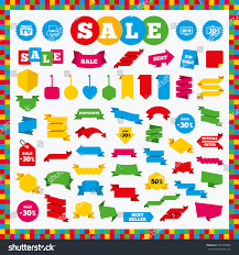 Smart Table Price by Banners Sale Stickers Sale Labels Smart Stock Vector 431898850