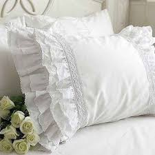 Shabby Chic Pillow Covers by Best 25 Ruffle Pillow Ideas On Pinterest Throw Pillow Covers