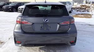 lexus ct200 hybrid 2014 grey lexus ct200h hybrid touring package review youtube