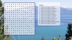 free make your own printable word search maker and other