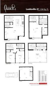Gateway Floor Plan by The Neighbourhoods Of Queen St E Toronto Homes U0026 Real Estate