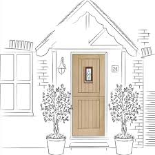 Triple Glazed Patio Doors Uk by Xl Joinery Chancery Oak External Door Leader Doors