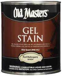 old 158800 84304 gel stain rich mahogany oil based household