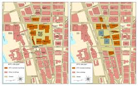 world trade center site plan pre and post 9 11 2976x1844 mapporn world trade center site plan pre and post 9 11