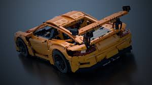lego technic porsche 911 gt3 rs renderbricks lego technic 42056 porsche gt3 rs