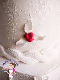 knit inspired winter wedding cake veena azmanov