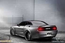 Dodge Challenger Matte Black - challenger savini wheels