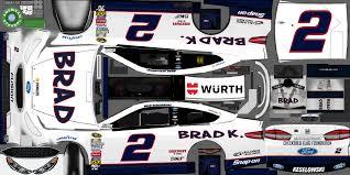 Ford Racing Flag Pc Computer Nascar Heat Evolution 2 Brad Keselowski The