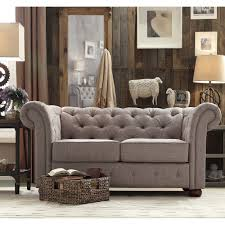 Leather Chesterfield Sofa Bed Living Room Leather Chesterfield Sofa Grey 2 Seater Chesterfield