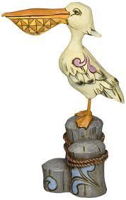 amazon com jim shore for enesco heartwood creek pelican figurine