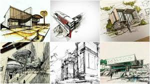 extra amazing architectural sketches architecture admirers