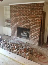 covering a brick fireplace diy project creative faux panels