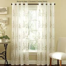 Embroidered Sheer Curtains Embroidered Sheer Curtains Kattenbroek Info