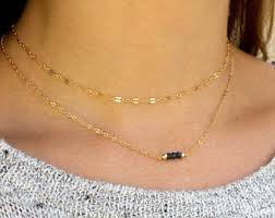 necklace choker chain images Chain choker etsy jpg