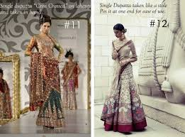 Different Ways Of Draping Dupatta On Lehenga 40 Best Fusion Images On Pinterest Cropped Tops Indian Fashion