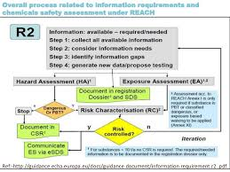 echa chemical safety report template guidance on information