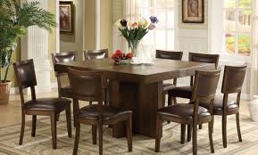 table mesmerize dining table seats 8 round intrigue large square