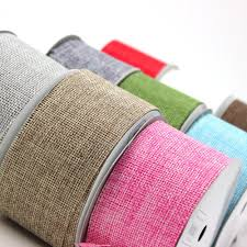 burlap ribbon maple craft 2 burlap ribbon 24ft roll spool of 8 yards