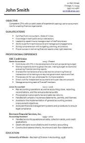 Resume Junior Accountant Accounting Resume Examples Examples Of Accounting Resumes Resume