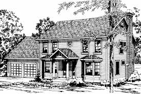Colonial House Plan by Colonial House Plans Westport 10 155 Associated Designs