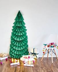 how to make christmas make it diy sized folded paper christmas tree curbly