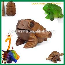 Decorative Frogs Wooden Croaking Frog Wooden Croaking Frog Suppliers And