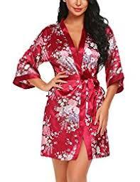 peignoir de chambre femme amazon fr robes de chambre et kimonos femme s
