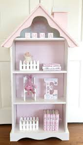 charming cottage dollhouse bookcase custom by artfullibrary etsy