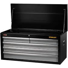 stanley 10 drawer rolling tool cabinet stanley 40 5 drawer tool chest on clearance at walmart for 89