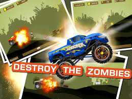 monster truck extreme racing games mad truck 2 physics monster truck hit zombie android apps on