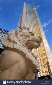 gold lion statues golden lion statue with gold royal bank highrise tower in toronto
