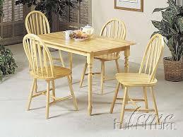 Natural Wood Dining Room Sets Dining Room And Dinette Super Center