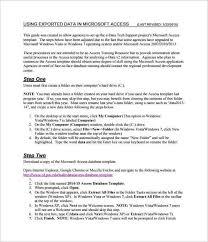 51 microsoft access templates u2013 free samples examples u0026 format