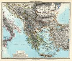 Old Europe Map by Large Scale Old Map Of Balkans 1891 Balkans Europe