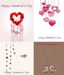 romantic sketch love greeting card free vector download 18 520