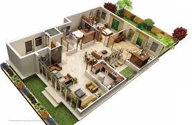 villa plans 31 awesome villa floor plan 3d images plan villas