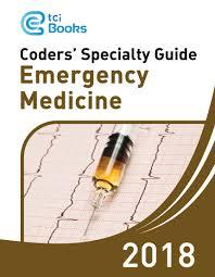 specialty guide 2018 emergency medicine