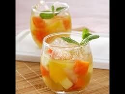 cara buat es lilin nanas cara membuat es buah nanas youtube