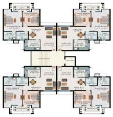 cluster house plans housing design plans