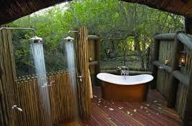 tropical bathroom ideas rustic details in unique tropical bathrooms with comfy bathtub and