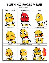 Cute Meme Faces - blushing face meme by keyroy on deviantart